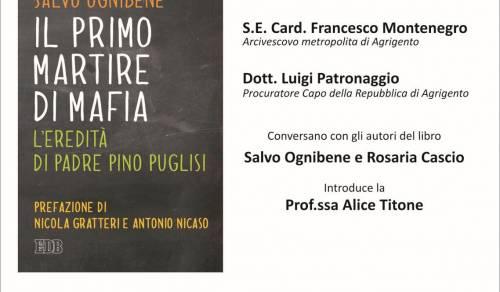 Immagine: Salvo Ognibene presenta a Menfi 'Il primo martire di mafia. L'eredità di Padre Pino Puglisi'