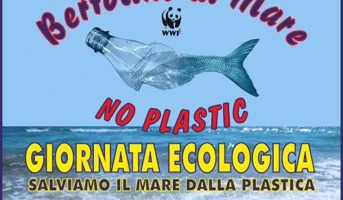 Immagine: Tre giornate per salvare il mare dalla plastica: domenica Comune e volontari all'opera sulla spiaggia di Bertolino