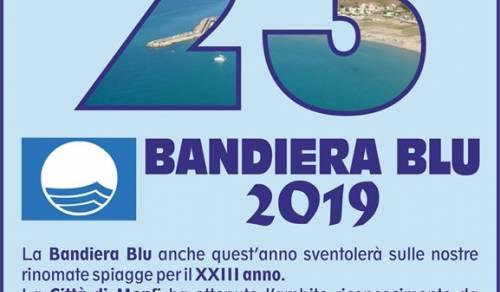 Immagine: Bandiera Blu 2019 la XXIII di cui XXII consecutive un bel riconoscimento per tutta la nostra comunità.