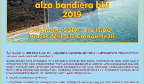 Immagine: Cerimonia alzabandiera blu 2019 - 21 Giugno 2019 - Piazza V. Emenuele IIII