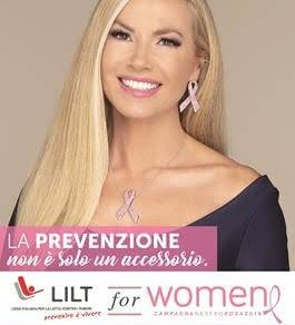 Immagine: LILT  for Women :  CAMPAGNA NASTRO ROSA 2018