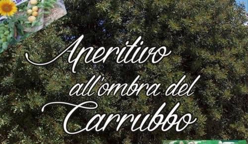 Immagine: Aperitivo all'ombra del carrubbo - 28 luglio 2019 c/da Finocchio
