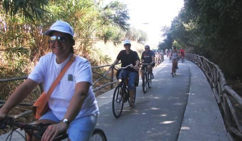 Immagine: Menfi in bici, un grande successo!