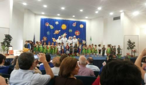 Immagine: Anno scolastico 2014/15, due belle cerimonie di fine d'anno.