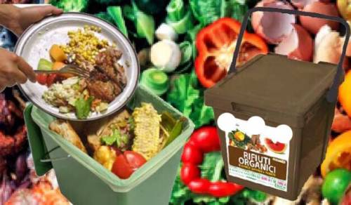 Immagine: Rifiuti organici, bisogna utilizzare esclusivamente sacchi biodegradabili