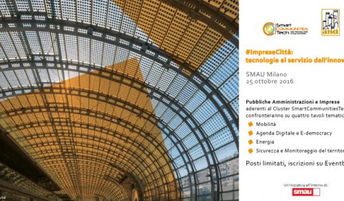 Immagine: Smart City, Menfi unico comune siciliano presente ad ImpreseCittà!