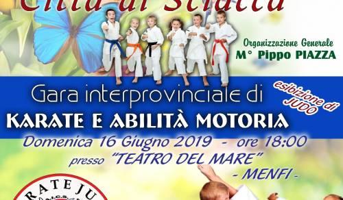 Immagine: Gara interprovinciale di karate e abilità motoria - Domenica 16 Giugno teatro del Mare.