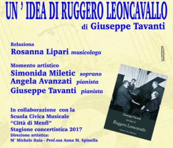 Immagine: Presentazione di 'Un'idea di Ruggero Leoncavallo'