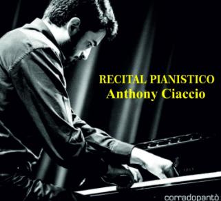 Immagine: Istituzione Federico II, Anthony Ciaccio in concerto!