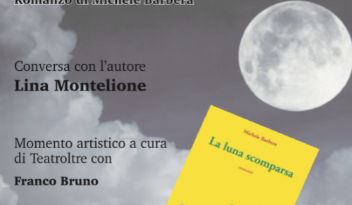 Immagine: La luna scomparsa, Michele Barbera presenta il suo libro a Menfi