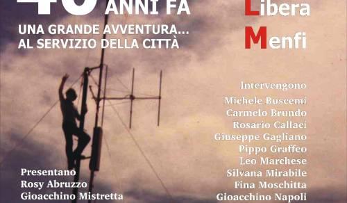Immagine: Menfi celebra Radio Libera Menfi