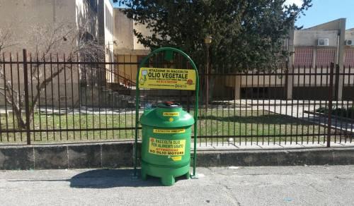 Immagine: Menfi, installate le stazioni di raccolta  degli oli vegetali!