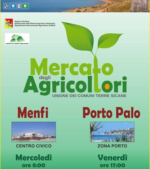 Immagine: Mercato degli agricoltori, da domani doppio appuntamento a Menfi. Oltre al Centro civico, i prodotti locali anche ogni venerdì a Porto Palo