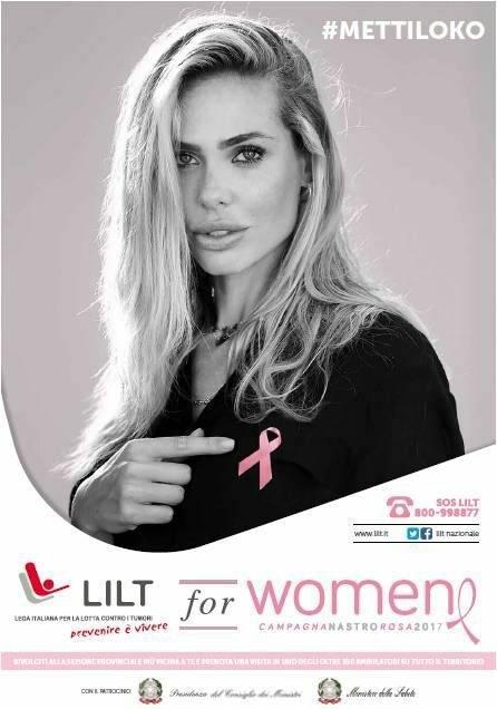 Immagine: LILT, Campagna Nastro Rosa