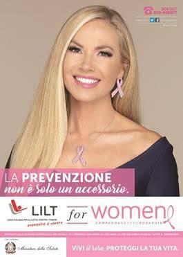 Immagine: LILT  for Women :  CAMPAGNA NASTRO ROSA 2018