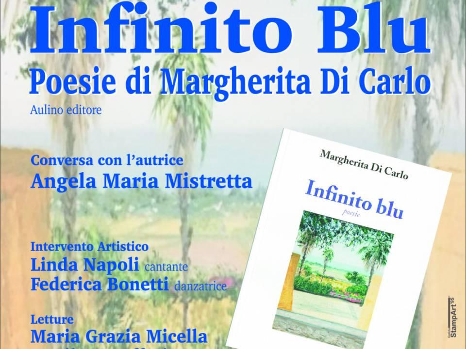 """Immagine: """"Infinito Blu""""  la silloge poetica - lunedì 19 agosto nella suggestiva cornice della piazzetta Pescatori di Porto Palo, alle ore 21:00"""