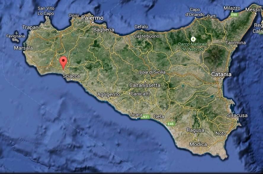 Cartina Autostradale Sicilia.Welcome To Menfi Citta Del Mare Pulito