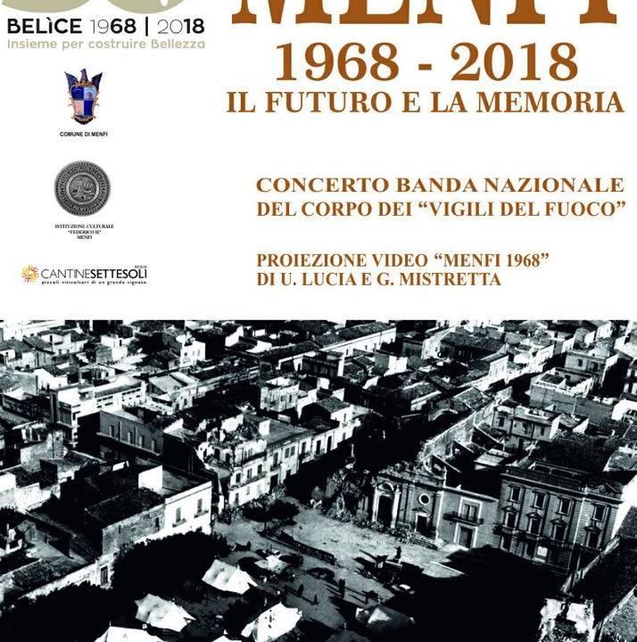 Immagine: Commemorazioni del sisma del Belice: Menfi, il futuro e la memoria