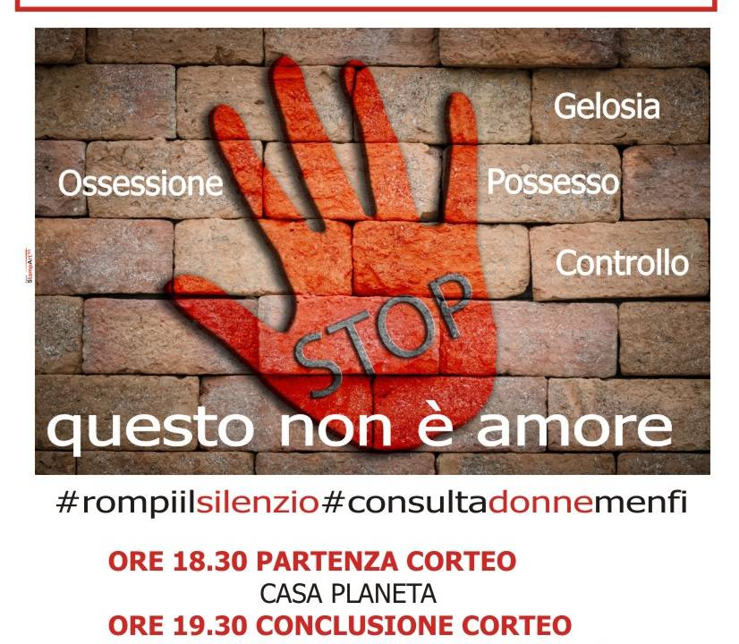 Immagine: Rompere il silenzio per dire NO alla violenza contro le donne!