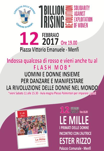 Immagine: La Consulta delle donne aderisce a 1 Billion Rising 2017