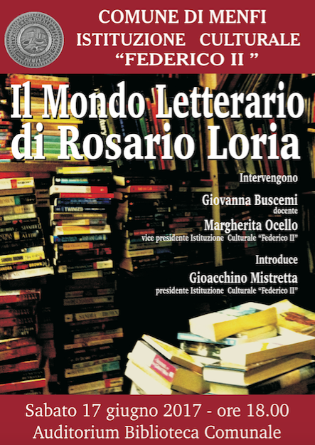 Immagine: Il mondo letterario di Rosario Loria