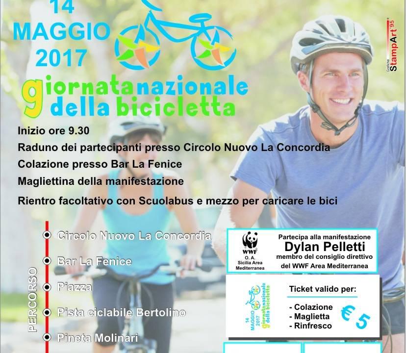 Immagine: Menfi aderisce alla Giornata Nazionale della Bicicletta